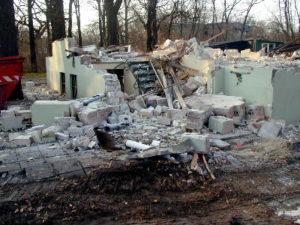 Gebäude, abgerissen