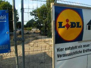 Baustelle, Lidl