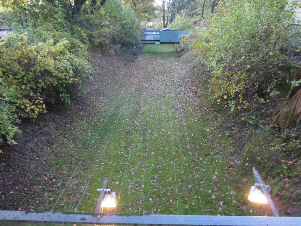 KK-Bahnen, Zielbeleuchtung