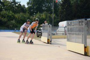 Einfahrt Skater
