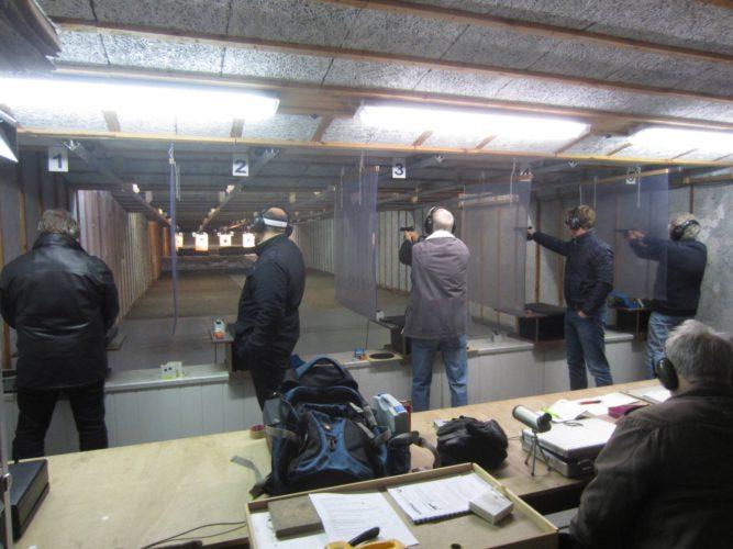 Forckenbeckstraße,Training, Feuerwaffenstand